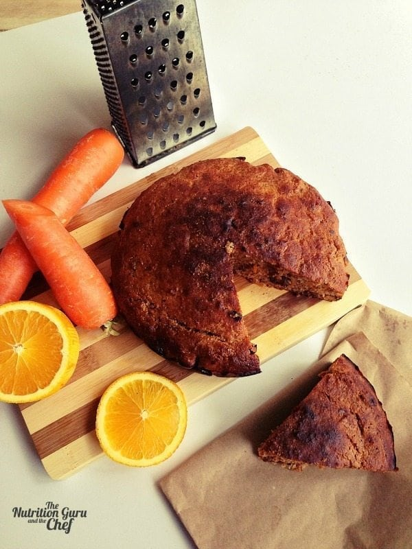 Gluten Free Carrot and Orange Spice Cake – The Nutrition Guru and ...