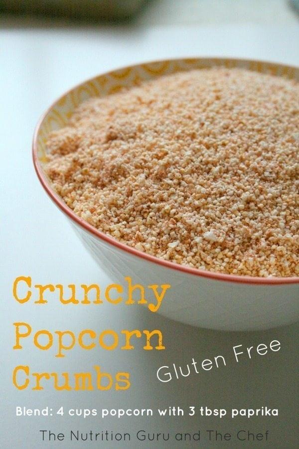 Gluten Free Popcorn Crumbs