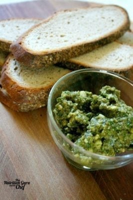 Basil And Cashew Pesto Nutrition Guru