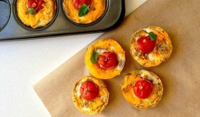 Sweet Potato and egg tarts