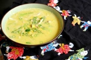 Easy chinese chicken and corn soup healthy dinner