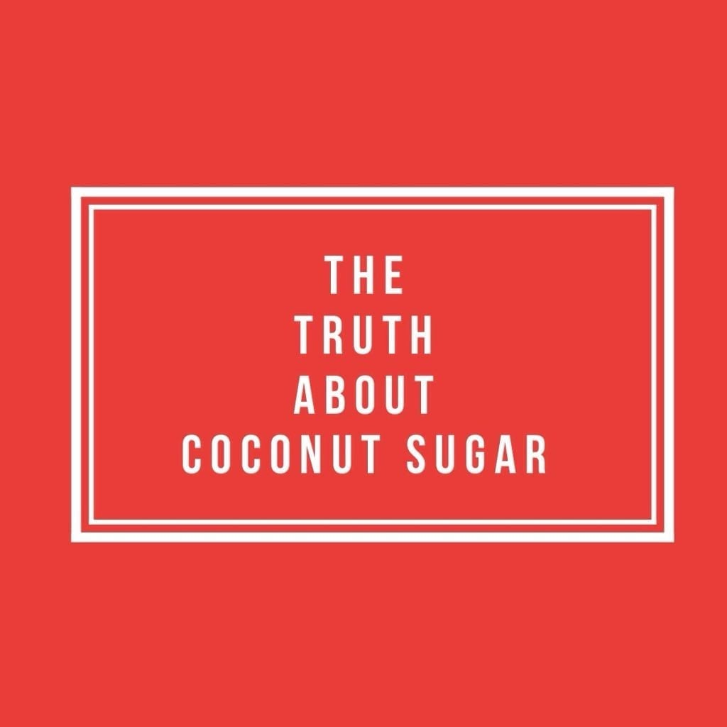 The truth about coconut