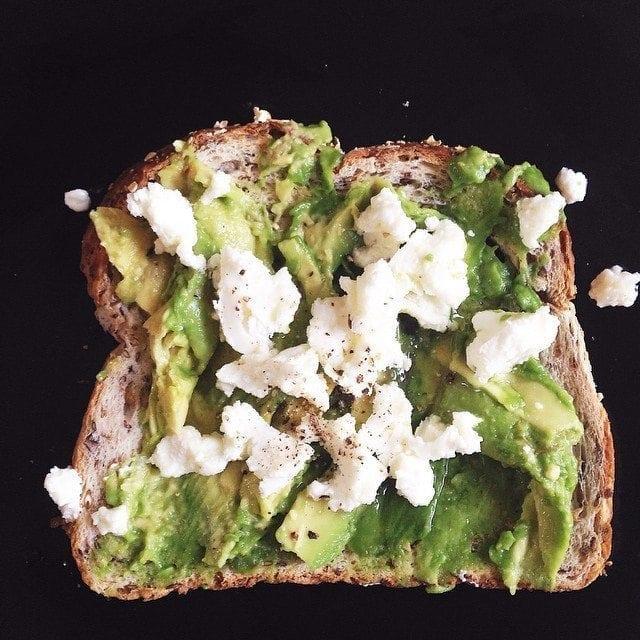 breast feeding snacks avocado